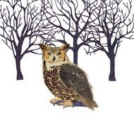 Paperproducts Design Салфетки Winter Owl бумажные, 16.5х16.5 см, 20 шт.