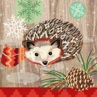 Paperproducts Design Салфетки Hedgehog with Scarf бумажные, 16.5х16.5 см, 20 шт.