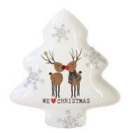 Paperproducts Design Тарелка We love Christmas большая, 19.5х2х23 см