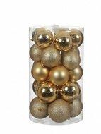 Triumph Tree Набор пластиковых шаров, золото, 23 шт.