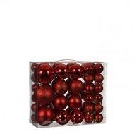 Triumph Tree Набор пластиковых шаров, красные, 46 шт.