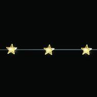 Luca lights Гирлянда декоративная Звезда, теплый свет, 20 лампочек, 190 см, медный провод