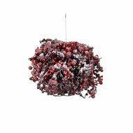 House of Seasons Шар с ягодами, 25 см, красный в снегу