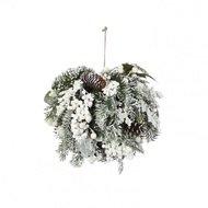 House of Seasons Шар Глазго с ягодами, 25 см, белый