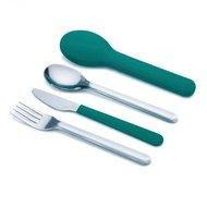 Joseph & Joseph Набор столовых приборов GoEat Cutlery Set, 3 пр, изумрудный