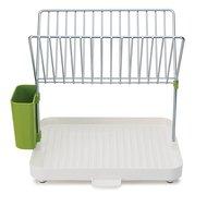Joseph&Joseph Сушилка для посуды со сливом Y-rack, 31.9x30.4x11.5 см, зеленая