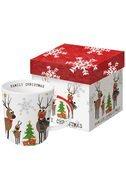 Paperproducts Design Кружка Family Christmas (350 мл), в подарочной упаковке