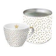 Paperproducts Design Кружка The Star Money (450 мл), с настоящим золотом