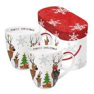 Paperproducts Design Набор кружек Family Christmas (350мл), 2шт