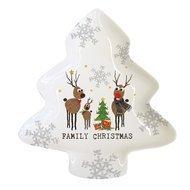 Paperproducts Design Тарелка Family Christmas, 19.5х23х2 см, большая