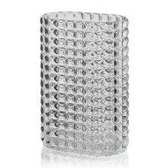 Guzzini Ваза Tiffany, 20х29х12 см, серая