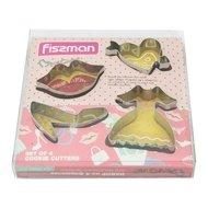 Fissman Набор формочек для вырезания печенья, 4 шт