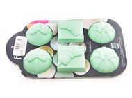 Fissman Форма для выпечки 6 кексов Подарки, 28x17.5x4 см