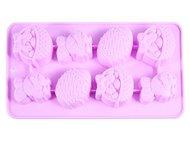 Fissman Форма для льда Пасхальный Кролик, 20.8x10.8x1.8 см, 8 ячеек