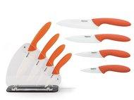 Fissman Набор керамических ножей Felice, 5 пр, на акриловой подставке