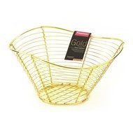 Fissman Корзинка для фруктов Gold, 34х23х12 см