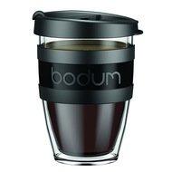 Bodum Кружка дорожная JoyCup 0.3 л. чёрная