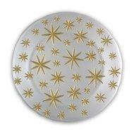 Nachtmann Блюдо Golden Stars, 32 см, белое