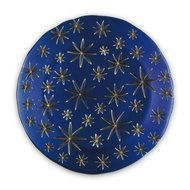 Nachtmann Блюдо Golden Stars, 32 см, синее
