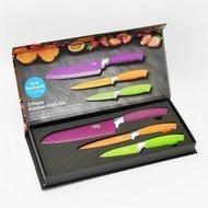 SKK Набор ножей Design Line, с цветным покрытием, 3 пр