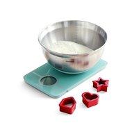 Brabantia Набор кухонные весы и салатник, мятные
