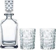 Nachtmann Набор для виски Bossa Nova декантер (750 мл) и стаканы (330 мл), бессвинцовый хрусталь, 3пр.