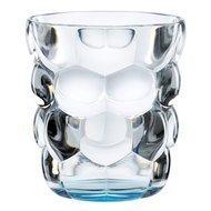 Nachtmann Набор стаканов Bubbles для воды с голубым дном (330 мл), бессвинцовый хрусталь, 2 шт.