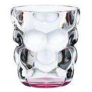Nachtmann Набор стаканов Bubbles для воды с розовым дном (330 мл), бессвинцовый хрусталь, 2 шт.