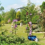 Gardman Арка садовая Deluxe, 230х100 см, черная
