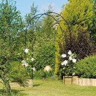 Gardman Арка садовая Easy, 240х140 см, черная