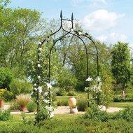 Gardman Арка садовая Gothic, 295х140 см, черная