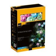 Gardman Гирлянда 10 Colour Bulb String Lights, 10 разноцветных ламп
