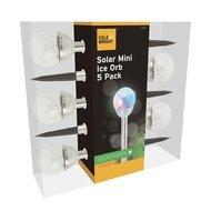 Gardman Фонарь уличный Solar Mini Ice Orb, 5 шт.