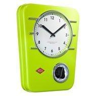Wesco Часы кухонные Classic Line, зеленые