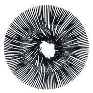 Koziol Блюдо для фруктов Anemone, 32.8 см, черное