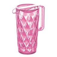 Koziol Кувшин Crystal (1.6 л), розовый