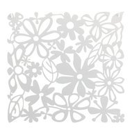 Koziol Набор декоративных элементов Alice, 27х27 см, 4 шт, белый