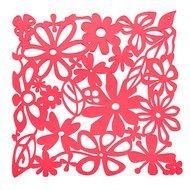 Koziol Набор декоративных элементов Alice, 27х27 см, 4 шт, красный