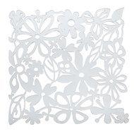 Koziol Набор декоративных элементов Alice, 27х27 см, 4 шт, прозрачный