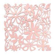 Koziol Набор декоративных элементов Alice, 27х27 см, 4 шт, розовый