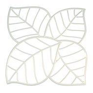 Koziol Набор декоративных элементов Leaf, 27х27 см, 4 шт, белый