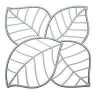 Koziol Набор декоративных элементов Leaf, 27х27 см, 4 шт, серый