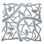 Koziol Набор декоративных элементов Pi:p, 27х27 см, 4 шт, серый