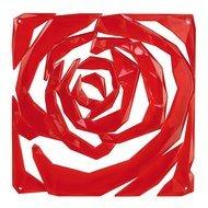Koziol Набор декоративных элементов Romance, 27х27 см, 4 шт, красный