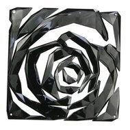 Koziol Набор декоративных элементов Romance, 27х27 см, 4 шт, черный