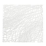 Koziol Набор декоративных элементов Silk, 27х27 см, 4 шт, белый