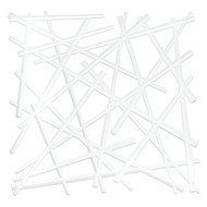 Koziol Набор декоративных элементов Stixx, 27х27 см, 4 шт, белый