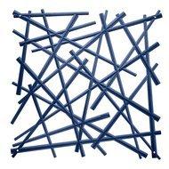 Koziol Набор декоративных элементов Stixx, 27х27 см, 4 шт, синий