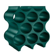 Koziol Подставка для бутылок Set-Up, 37х35х23 см, зеленая