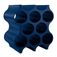 Koziol Подставка для бутылок Set-Up, 37х35х23 см, синяя